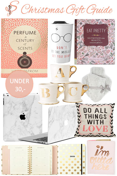 Christmas Gift Guide under 30,- (2015)