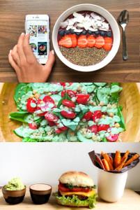 Selinas Inspiration Fashion Beauty Travel Lifestyle Blog Friday Food Diary Acai Bowl Avocado Basil Quinoa Salad Vegan Burger
