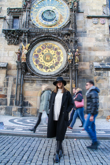 What I wore for Prague