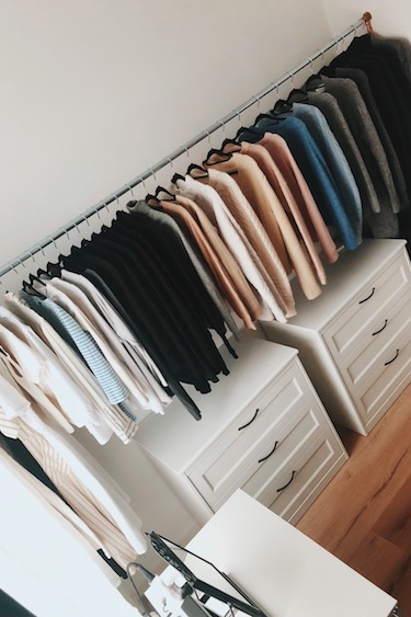 Wardrobe Declutter | The KonMari Method
