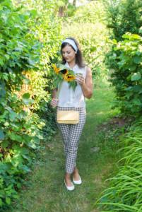 Selinas Inspiration Radley Audrey Hepburn Clutch 50s Fifties Retro Fashion Blog London National Gallery