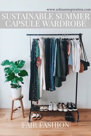 Summer Capsule Wardrobe | SUSTAINABLE FASHION