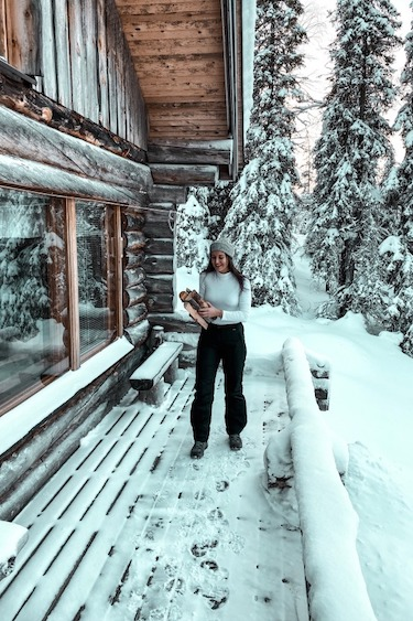 OFF THE GRID IN LAPLAND