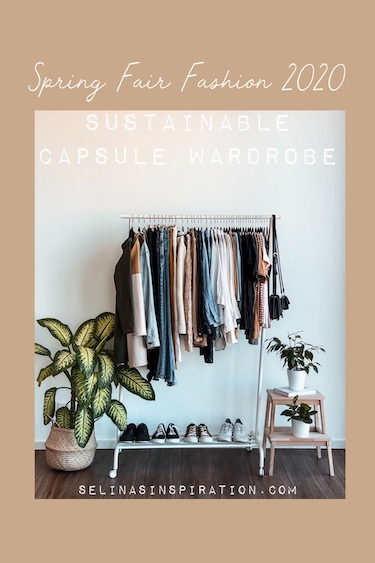 Spring Capsule Wardrobe | FAIR FASHION 2020
